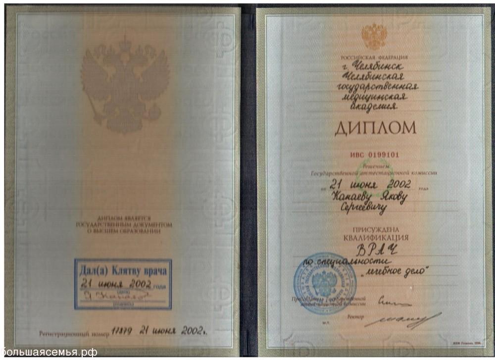 Канаев Яков Сергеевич невролог, физиотерапевт - 5